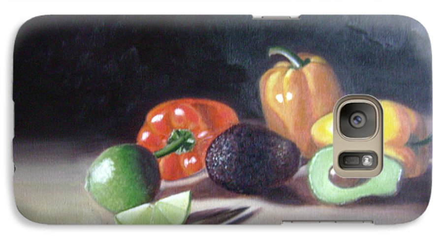 Galaxy S7 Case featuring the painting Still-life by Toni Berry
