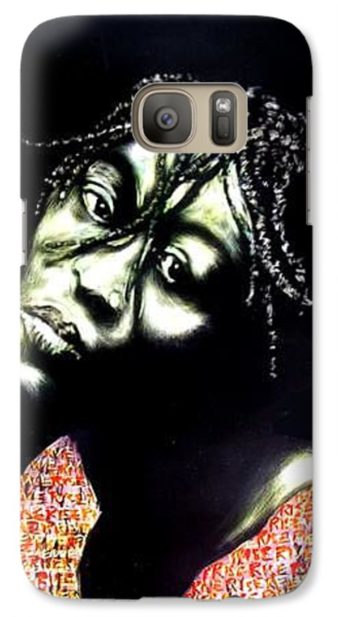 Galaxy S7 Case featuring the mixed media Still We Rise by Chester Elmore