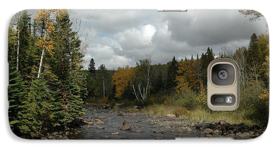 Nature Galaxy S7 Case featuring the photograph Stream At Tettegouche State Park by Kathy Schumann