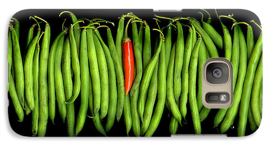 Culinary Galaxy S7 Case featuring the photograph Stringbeans And Chilli by Christian Slanec