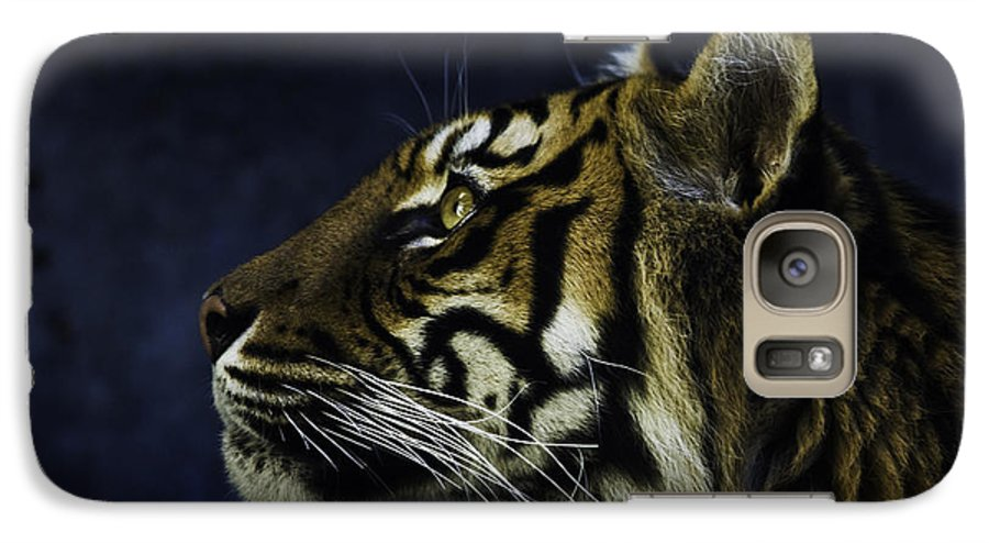 Sumatran Tiger Galaxy S7 Case featuring the photograph Sumatran Tiger Profile by Sheila Smart Fine Art Photography