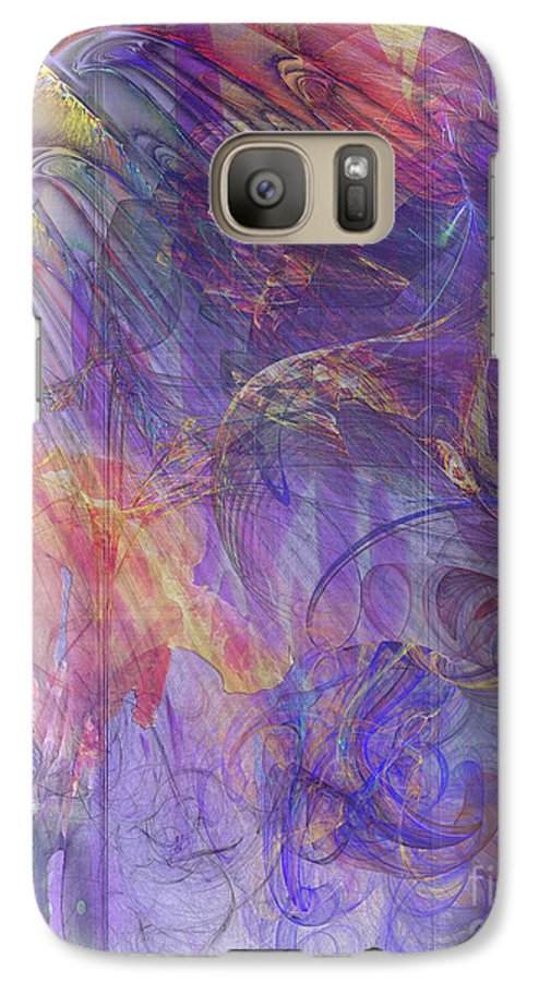 Summer Awakes Galaxy S7 Case featuring the digital art Summer Awakes by John Beck
