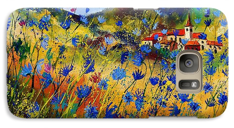 Flowers Galaxy S7 Case featuring the painting Summer Glory by Pol Ledent