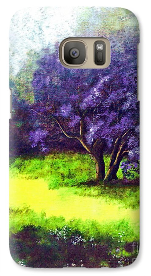 Fine Art Print Galaxy S7 Case featuring the painting Summer Mist by Patricia Griffin Brett