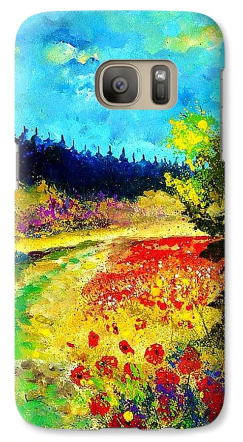 Flowers Galaxy S7 Case featuring the painting Summer by Pol Ledent