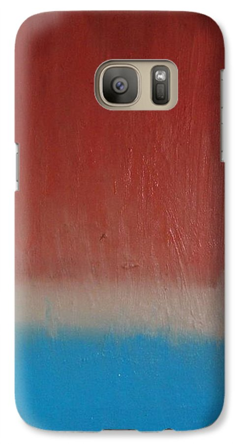 Painting Galaxy S7 Case featuring the painting Sun Rise - Sold by Elizabeth Klecker