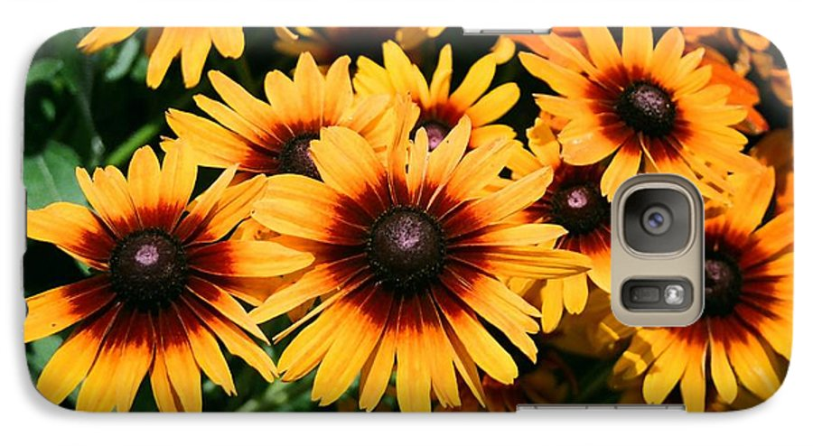 Sunflowers Galaxy S7 Case featuring the photograph Sunflowers by Dean Triolo