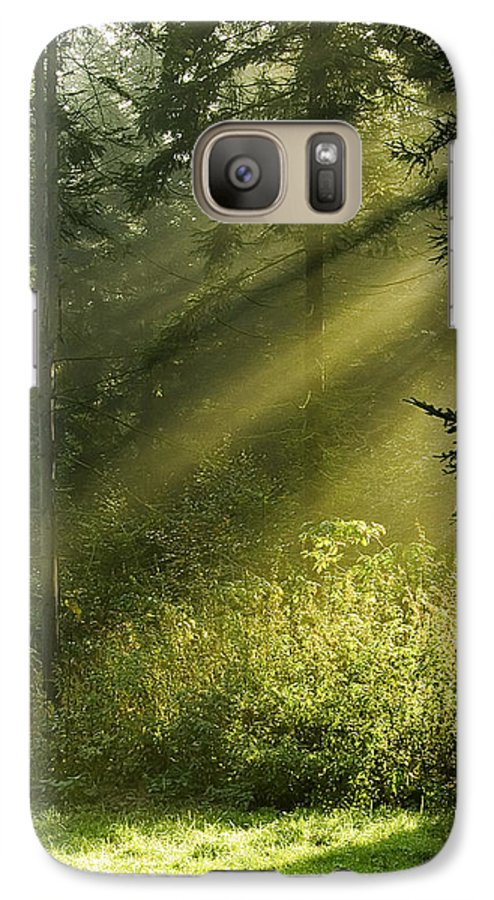 Nature Galaxy S7 Case featuring the photograph Sunlight by Daniel Csoka