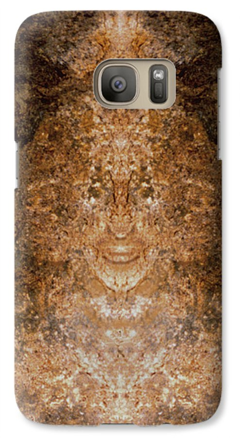 Rocks Galaxy S7 Case featuring the photograph Sunqueen Of Woodstock by Nancy Griswold