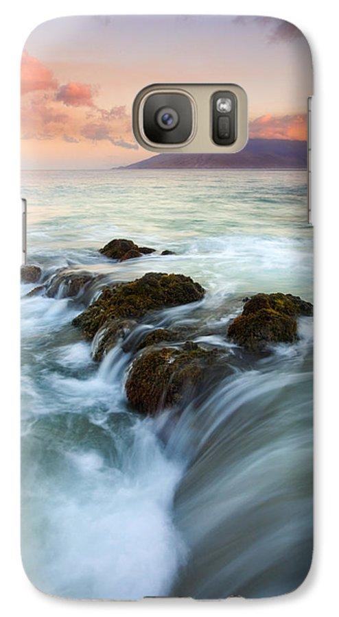 Sunrise Galaxy S7 Case featuring the photograph Sunrise Drain by Mike Dawson
