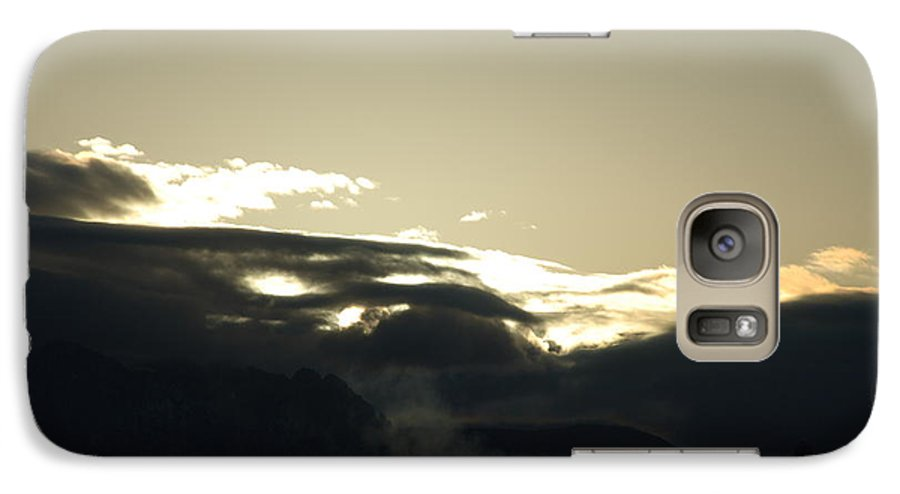 Sunrise Galaxy S7 Case featuring the photograph Sunrise Over The Sandias by Rob Hans