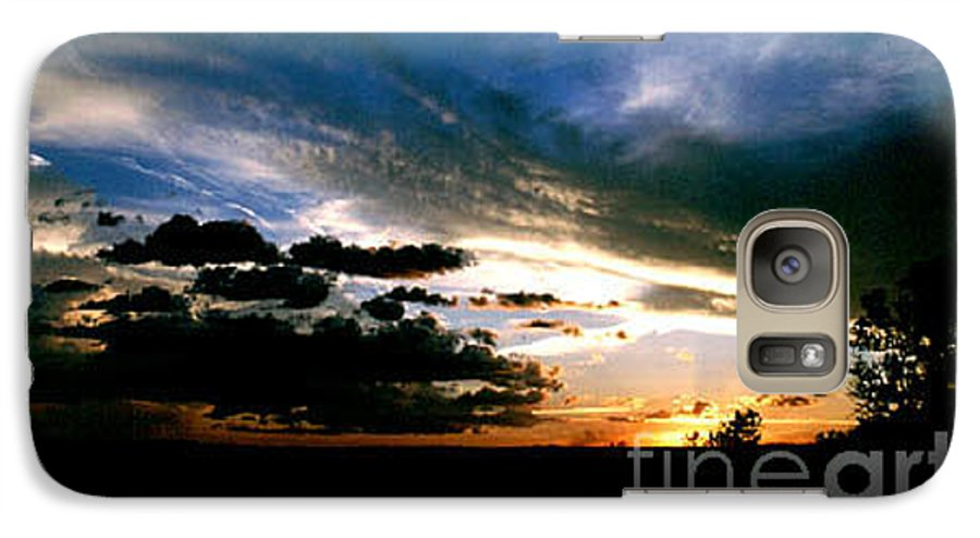 Sunset Galaxy S7 Case featuring the photograph Sunset At The North Rim by Kathy McClure