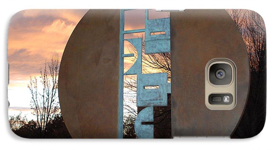 Pop Art Galaxy S7 Case featuring the photograph Sunset Thru Art by Rob Hans