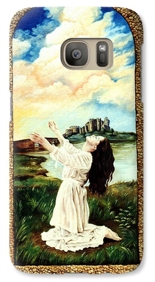 Christian Galaxy S7 Case featuring the painting Surrender by Teresa Carter