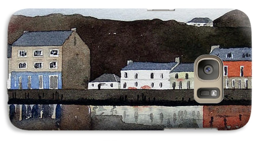 Landscape Galaxy S7 Case featuring the painting Tarbert by Paul Dene Marlor