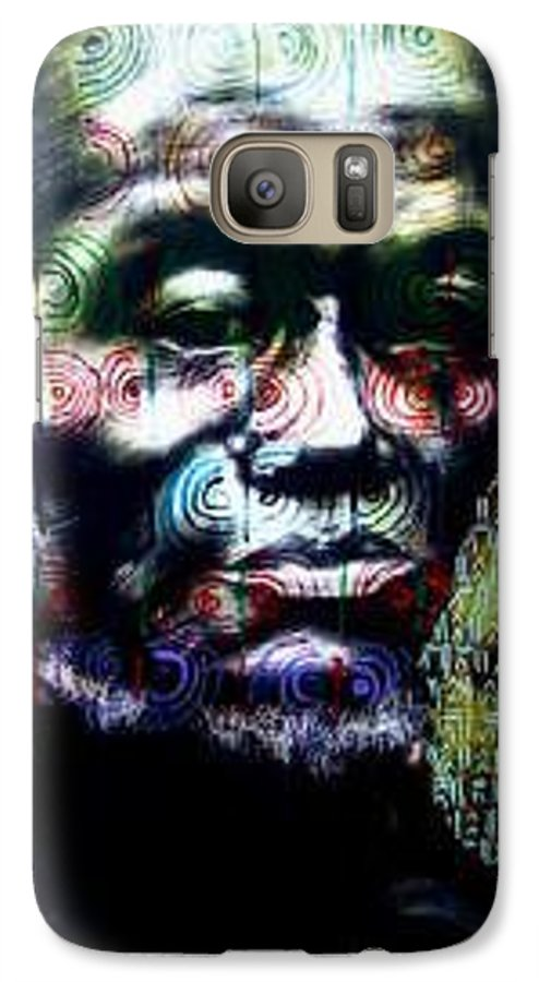 Portrait Galaxy S7 Case featuring the mixed media Tattoo by Chester Elmore