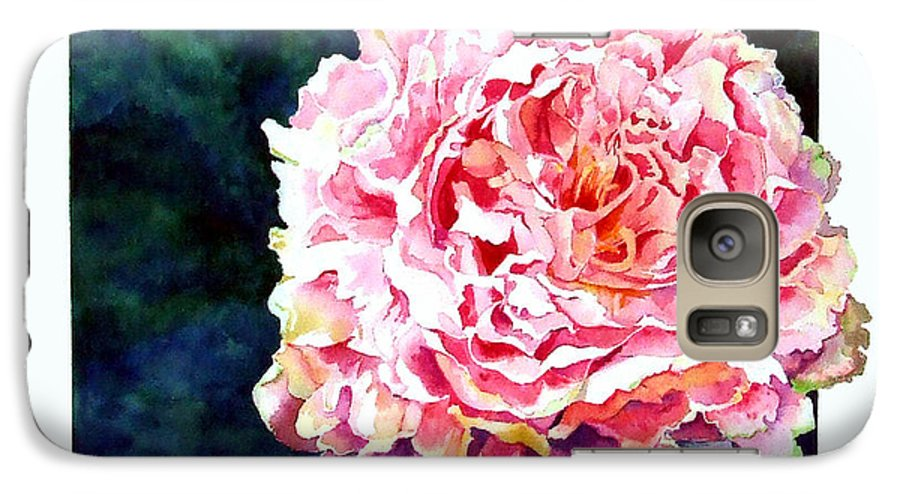Peony Galaxy S7 Case featuring the painting The Ant's Castle by Linda Marie Carroll