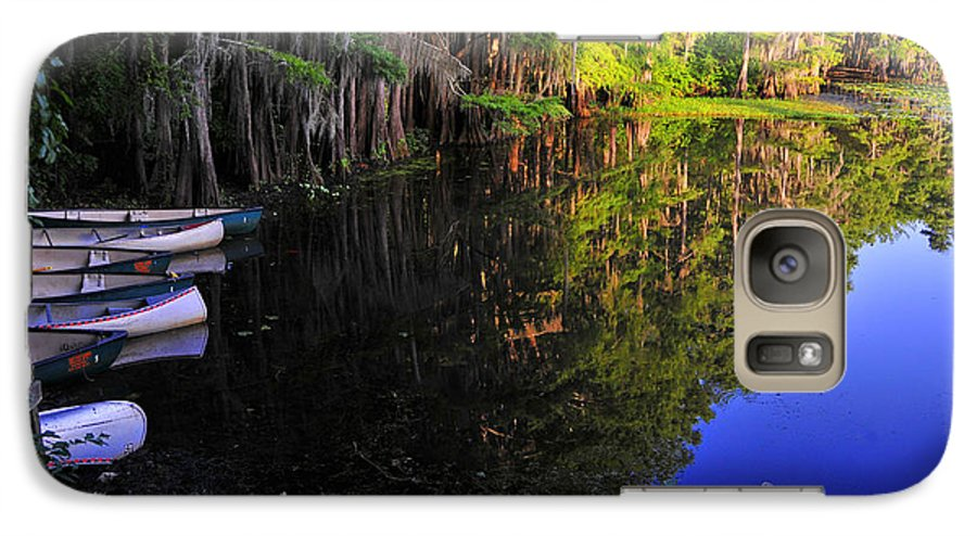 Skip Hunt Galaxy S7 Case featuring the photograph The Black Lagoon by Skip Hunt