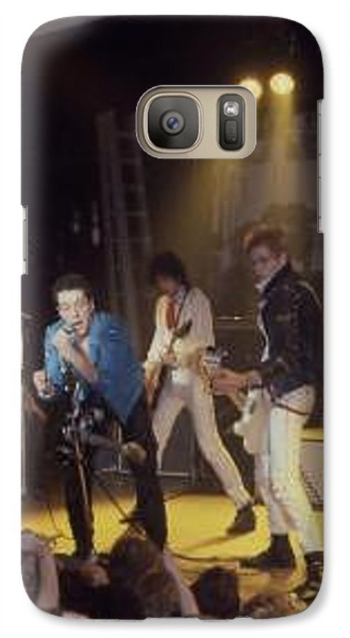 The Clash-london 1978 Photo By Dawn Wirth-copyrighted Galaxy S7 Case featuring the photograph The Clash-london - July 1978 by Dawn Wirth