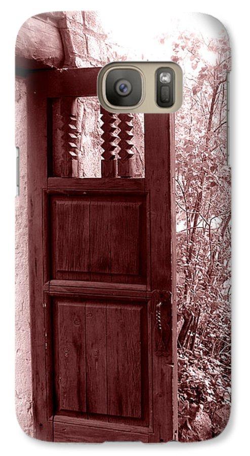 Door Galaxy S7 Case featuring the photograph The Door by Wayne Potrafka