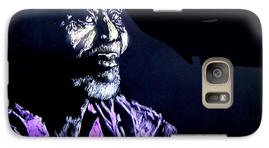 Galaxy S7 Case featuring the mixed media The Elder by Chester Elmore
