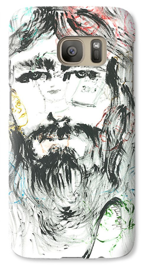 Jesus Galaxy S7 Case featuring the painting The Emotions Of Jesus by Nadine Rippelmeyer