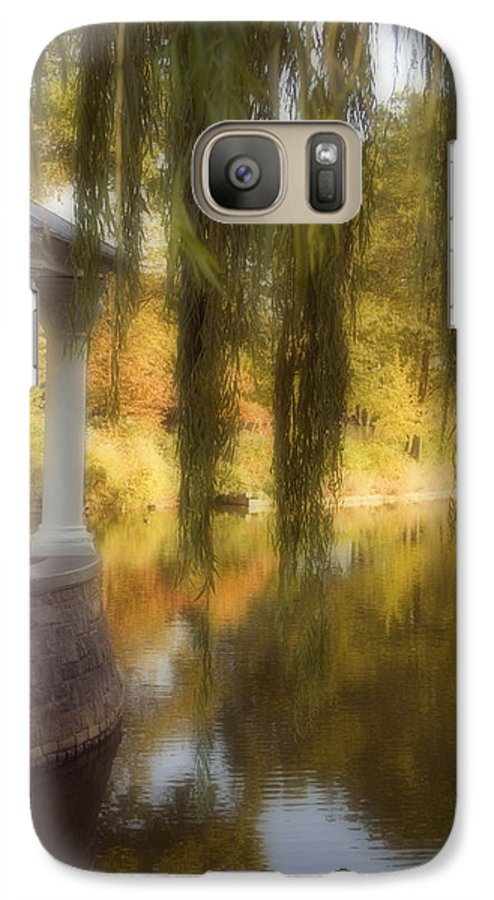 Water Galaxy S7 Case featuring the photograph The Gazebo by Ayesha Lakes