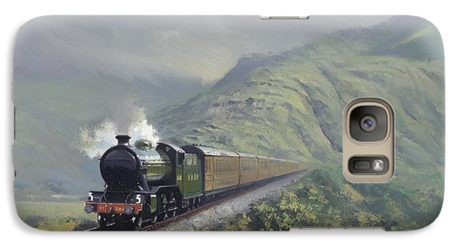 Steam Galaxy S7 Case featuring the painting the Great Marquess by Richard Picton