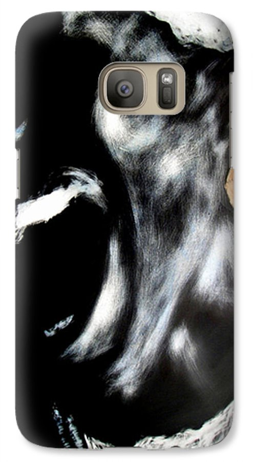 Galaxy S7 Case featuring the mixed media The Initiate by Chester Elmore