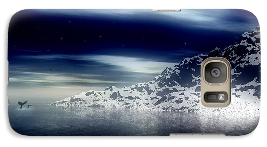 Arctic Galaxy S7 Case featuring the digital art The Journey Together by Kenneth Krolikowski