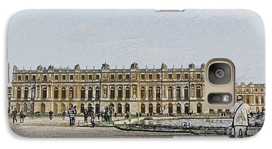 Palace Galaxy S7 Case featuring the photograph The Palace Of Versailles by Amanda Barcon