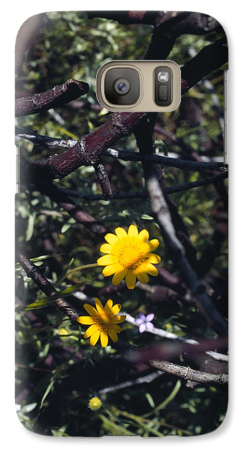 Flower Galaxy S7 Case featuring the photograph The Prisoner by Randy Oberg