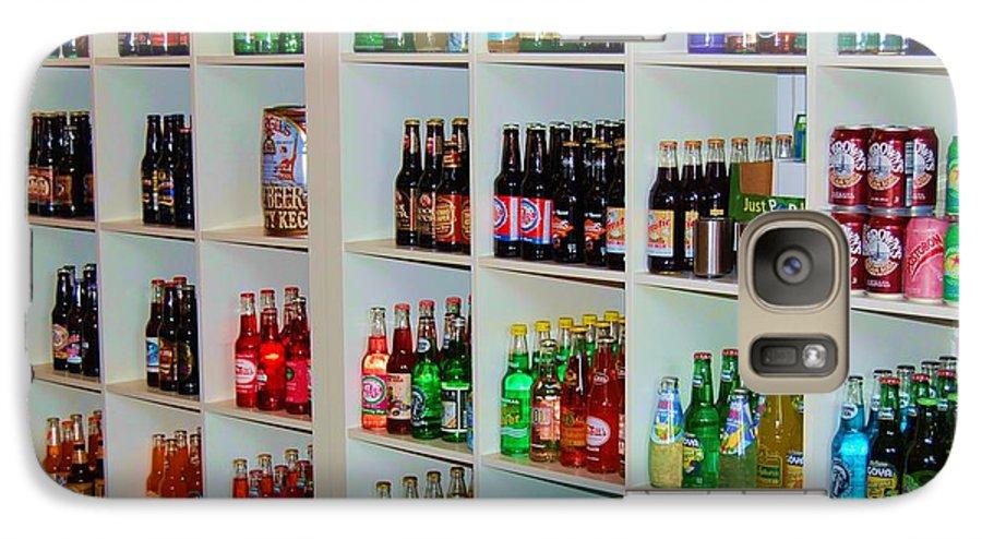 Soda Galaxy S7 Case featuring the photograph The Soda Gallery by Debbi Granruth
