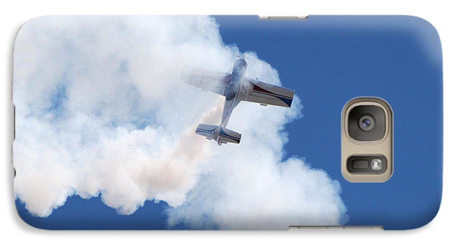 Aircraft Galaxy S7 Case featuring the photograph The Stall by Larry Keahey