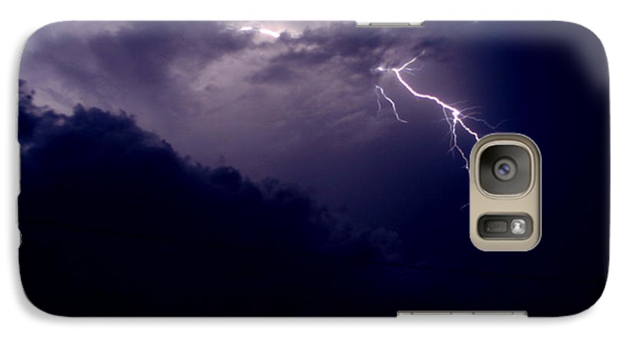 Sky Galaxy S7 Case featuring the photograph The Storm 1.3 by Joseph A Langley