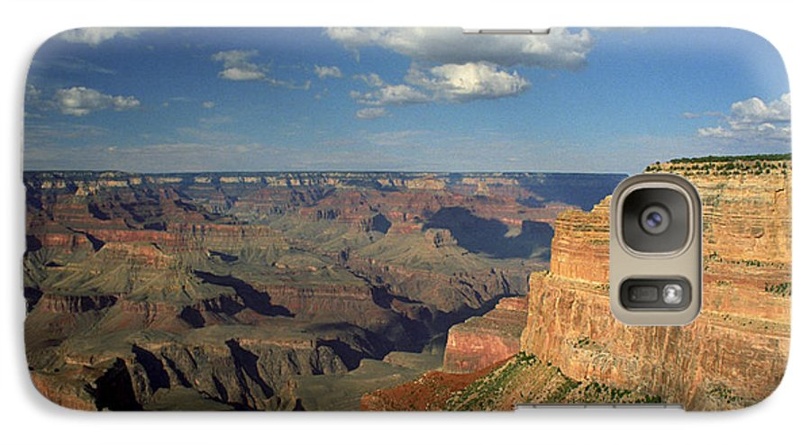 Grand Canyon Galaxy S7 Case featuring the photograph This Is My Father's World by Kathy McClure