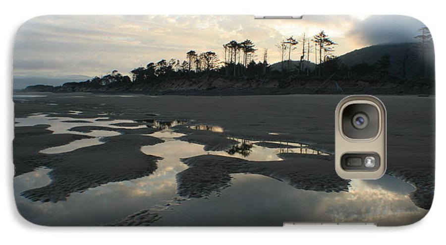 Oregon Galaxy S7 Case featuring the photograph Tidepools At Dawn by Idaho Scenic Images Linda Lantzy