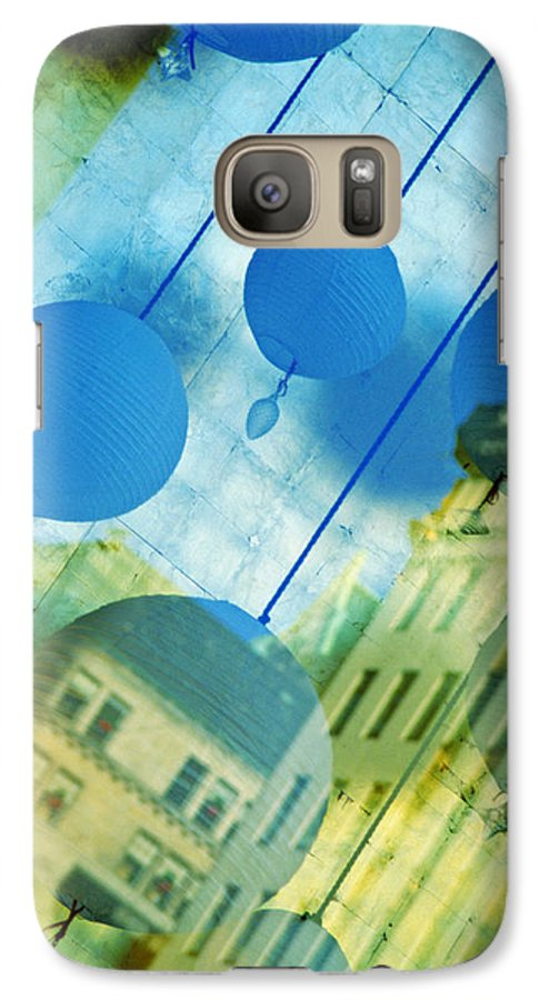 New York Galaxy S7 Case featuring the photograph Tiffanys by Skip Hunt