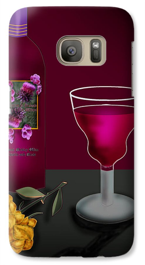 Still Life Galaxy S7 Case featuring the painting Tools Of The Trade by Anne Norskog