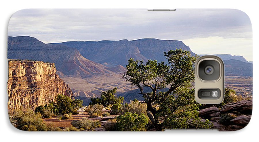 Arizona Galaxy S7 Case featuring the photograph Toroweap by Kathy McClure