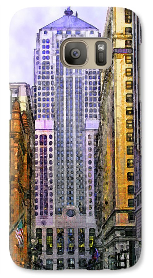 Trading Places Galaxy S7 Case featuring the digital art Trading Places by John Beck