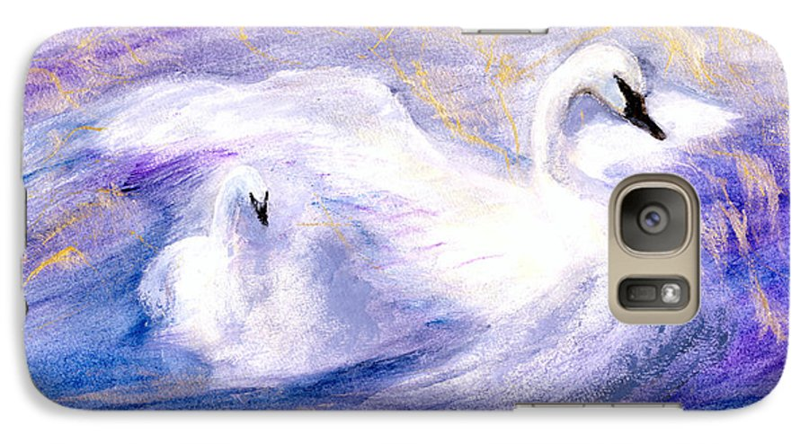 Birds Galaxy S7 Case featuring the painting Transformation by Gail Kirtz