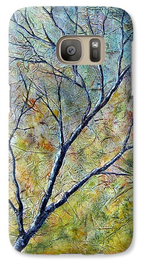 Galaxy S7 Case featuring the painting Tree Number One by Tami Booher