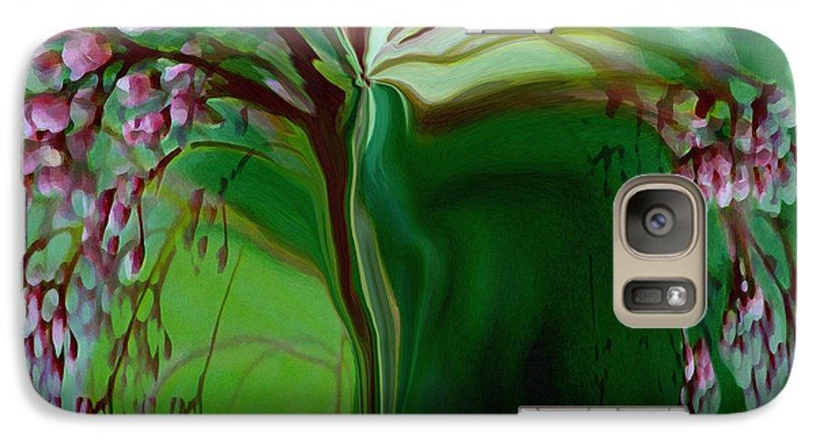 Tree Life Art Galaxy S7 Case featuring the digital art Tree Of Life by Linda Sannuti