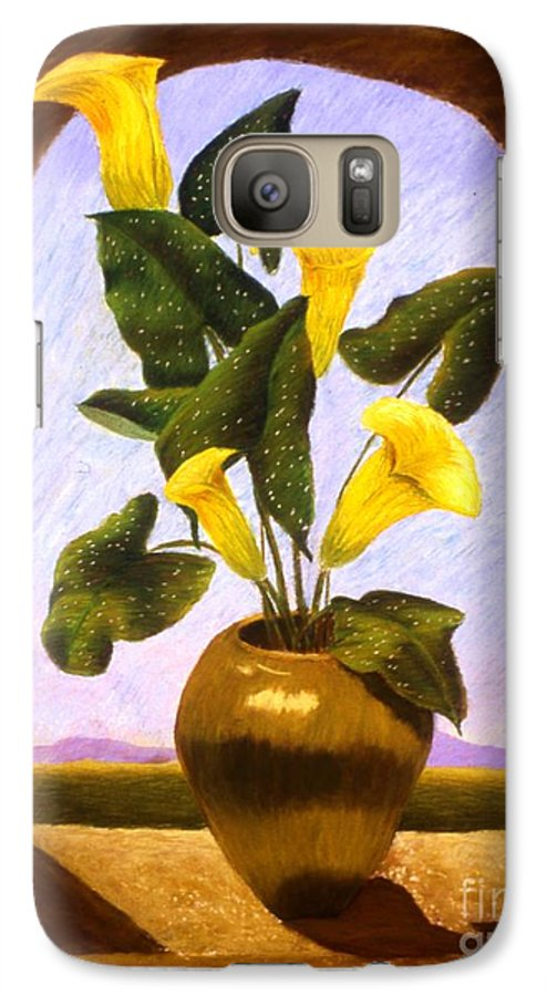 Still Life Galaxy S7 Case featuring the painting Tribute To The Dutch Masters by Mary Erbert