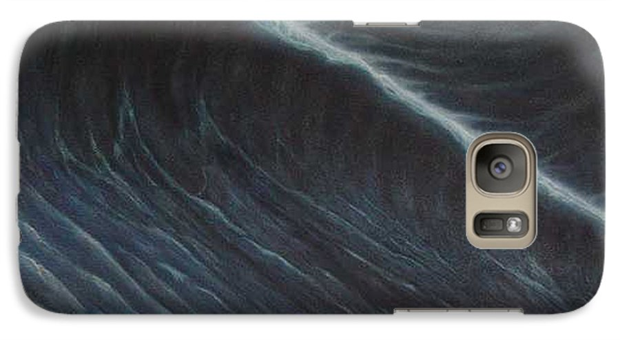 Seascapes Galaxy S7 Case featuring the painting Tsunami by Angel Ortiz