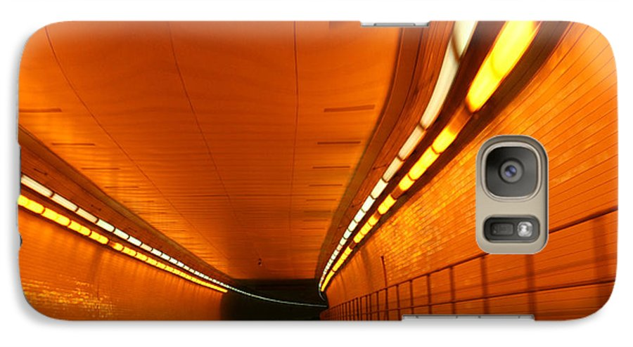 Tunnel Galaxy S7 Case featuring the photograph Tunnel by Linda Sannuti