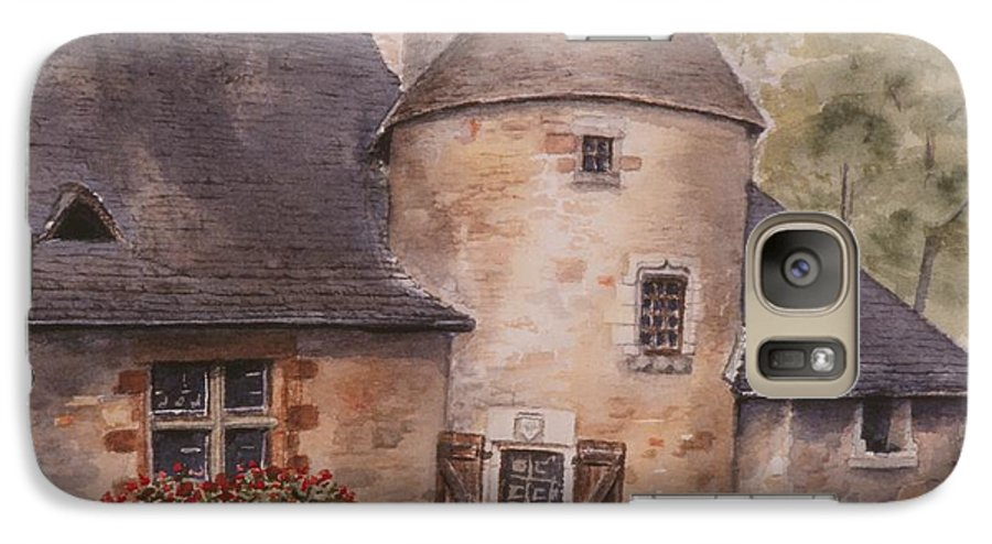 Watercolor Galaxy S7 Case featuring the painting Turenne by Mary Ellen Mueller Legault