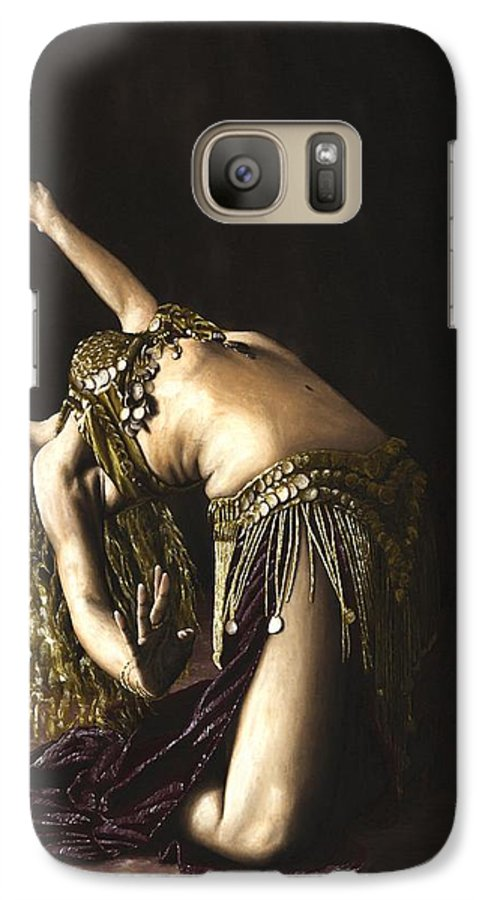 Turkish Galaxy S7 Case featuring the painting Turkish Delight by Richard Young