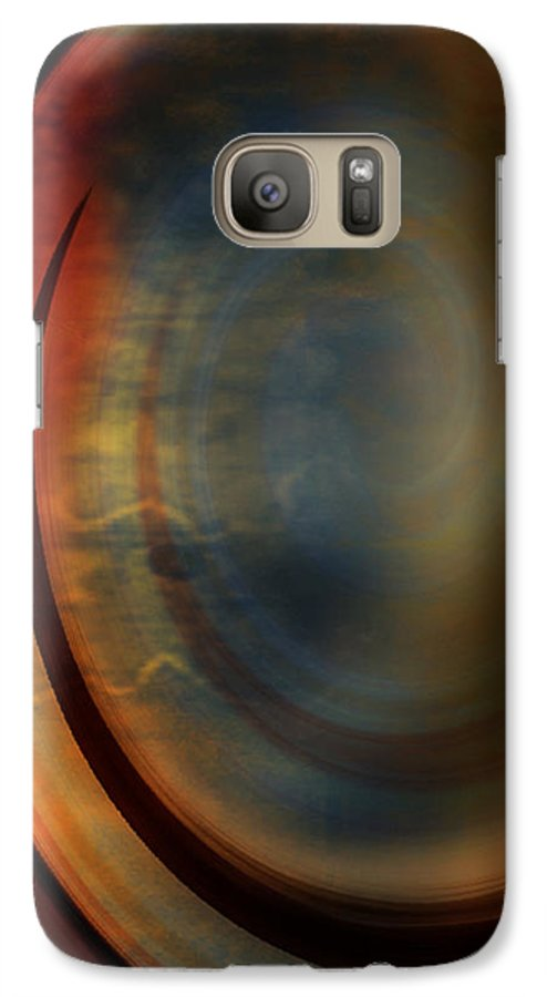 Tuscan 2 Galaxy S7 Case featuring the painting Tuscan 2 by Jill English